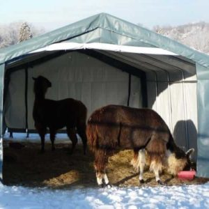 Livestock Shelters For Sale, 12 x 20 x 8, House Style