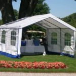 Outdoor Wedding Party Tent, 14 x 14 x 9, House Style