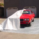 Car Pocket, Fabric Shelters, 24'W x 12'L