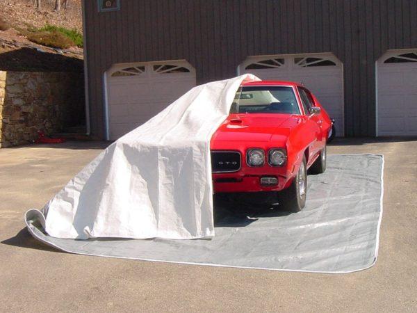 Car Pocket, Fabric Shelters, 24'W x 12'L