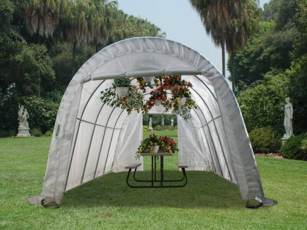 Portable Greenhouses, 30 x 30 x 15, Round Style