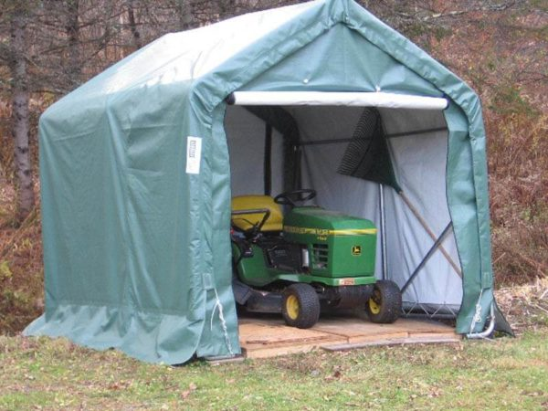 Backyard Storage Tent, 8 x 8 x 8, House Style