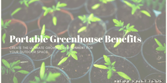 5 Awesome Benefits of Investing in a Portable Greenhouse