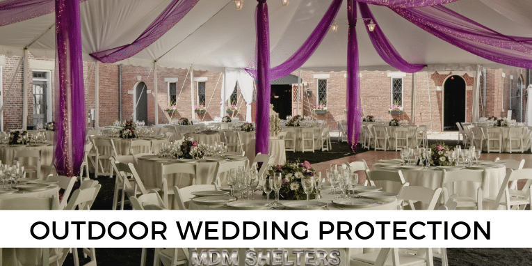 Outdoor Wedding Protection Requires Proper Ground Prep