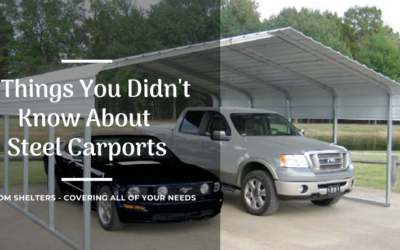 7 Things You Didn't Know About Steel Carports