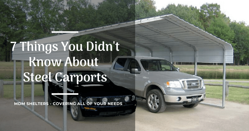 7 Things You Didn't Know About Steel Carport Kit