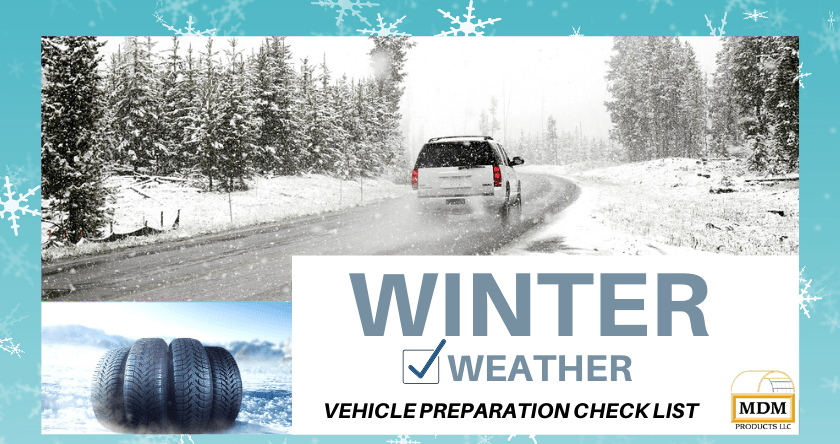 Winter Weather Vehicle Preparation Checklist