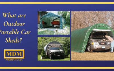 What Are High Quality Outdoor Portable Car Sheds?