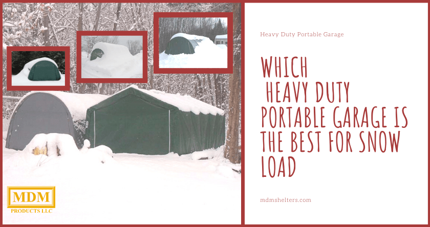Heavy Duty Portable Garage | MDM Products LLC Milford CT 06460