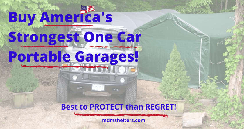 Buy Americas Strongest One Car Portable Garages